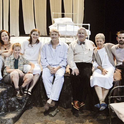 The White earth cast, 2009.