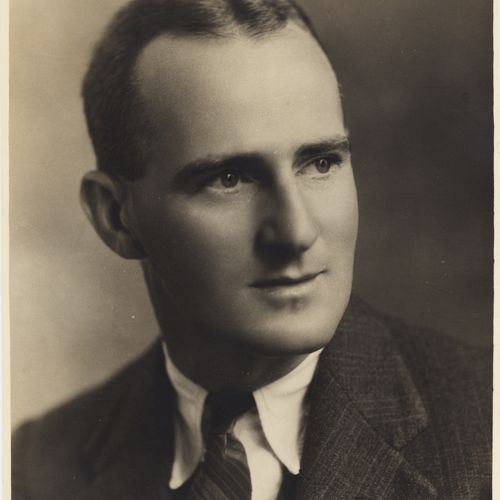 Playwright George Landen Dann