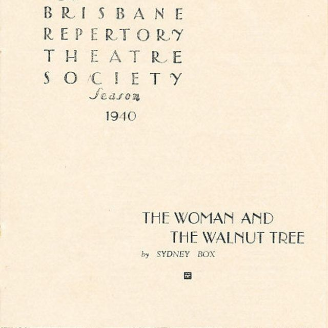 The Woman and the Walnut Tree