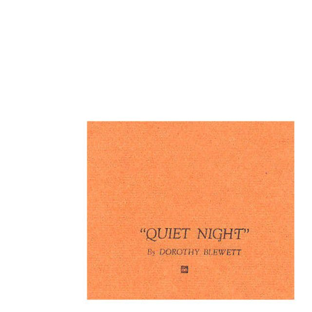 Quiet Night
