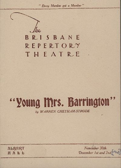 Young Mrs Barrington