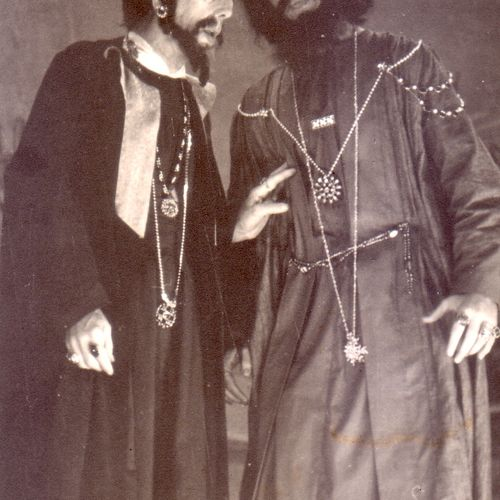 L to R: Franklyn Evans as Shylock & Eric Hauff as Tubal