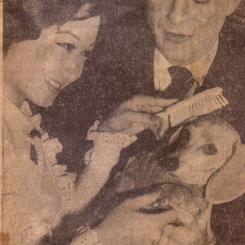 Tjoei Ong &  Burnett Carlisle in The Courier Mail, circa 31 July 1962.