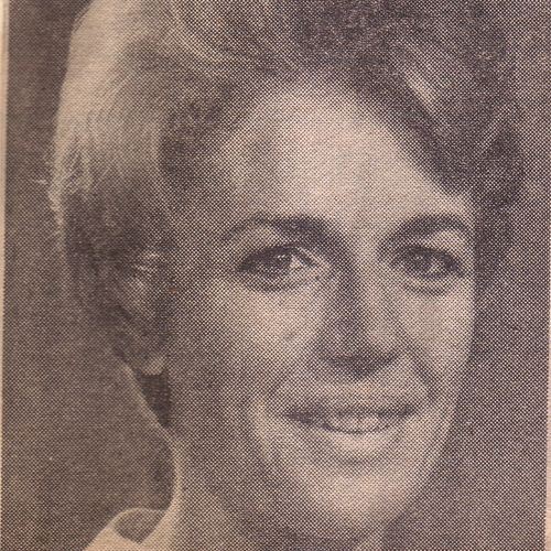 Jennifer Blocksidge circa 1967.