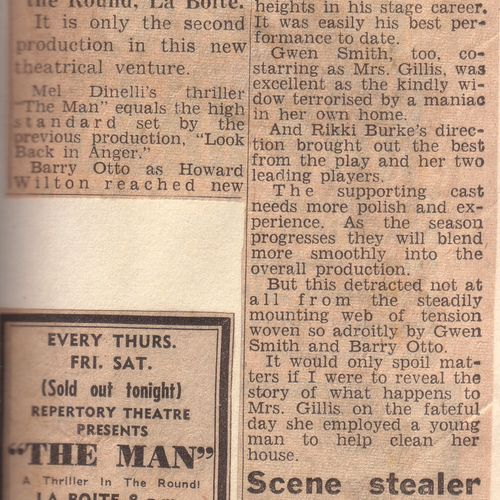 The Man review, 26 July 1967.