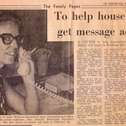 The Courier Mail, February 1, 1973.