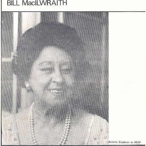 Babette Stephens on the cover of The Anniversary program, 1973.