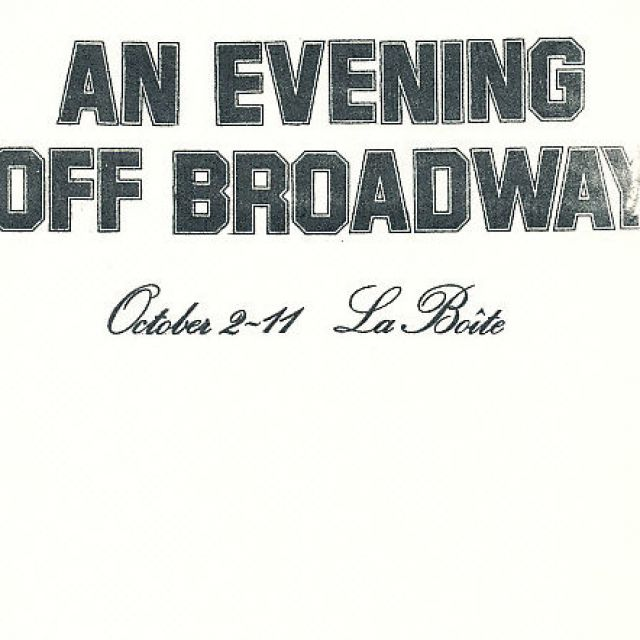 An Evening Off Broadway