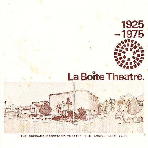 1975 was La Boite's 50th anniversary and International Women's Year. This celebratory image was used throughout the year.