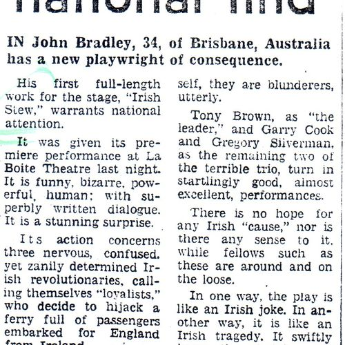 David Rowbotham review, The Courier Mail, 3 February 1979
