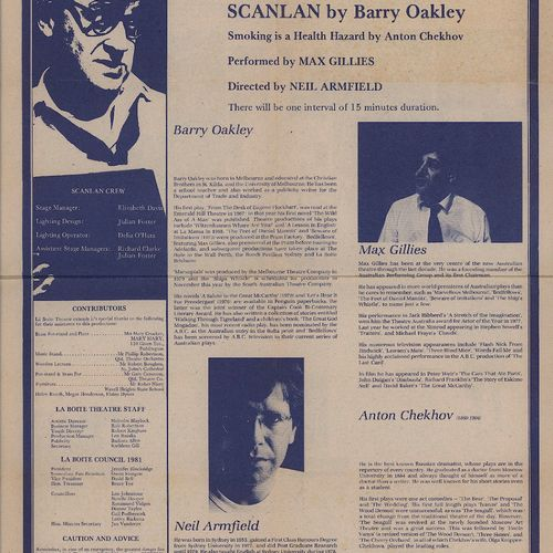 barry oakley playwright