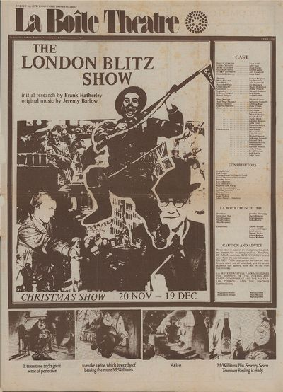 The London Blitz Show