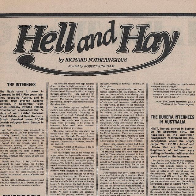 Hell and Hay