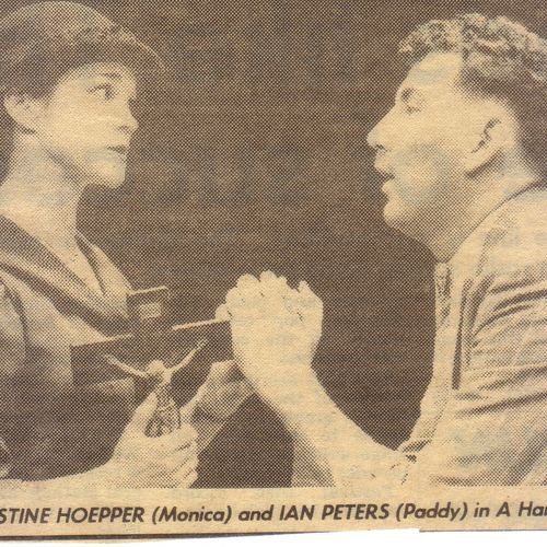 Christine Hoepper & Ian Peters