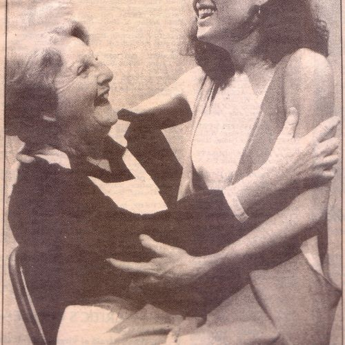 Bev Langford as the Nurse and Veronica Neave as Juliet.