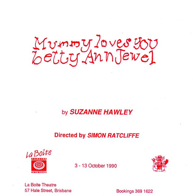 Mummy Loves You Betty Ann Jewel