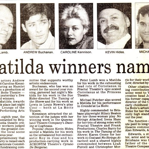 1994 Matilda Awards