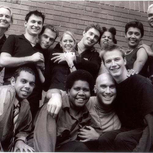 Romeo & Juliet cast & crew members. Directed by Sue Rider, 1999.