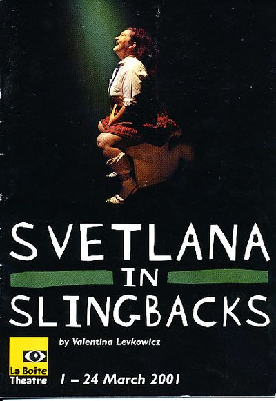 a look at the funny story of svetlana in slingbacks