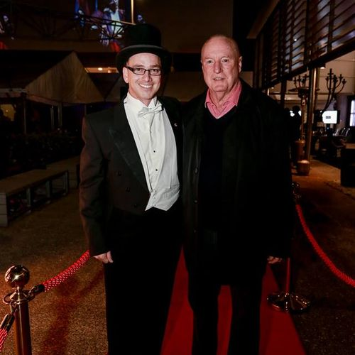 Todd Macdonald and Ray Meagher