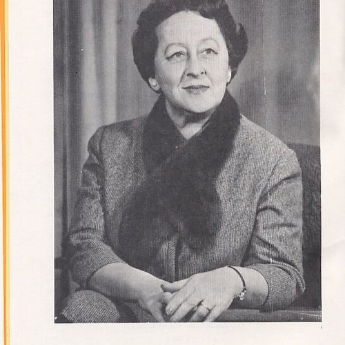 Babette Stephens, Theatre Director 1960-1968,  directed 40 productions between 1951 and 1967.