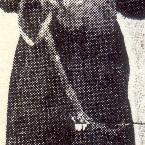 An early photo of Barbara Sisley in costume, reproduced in The Courier Mail January 30, 1956.
