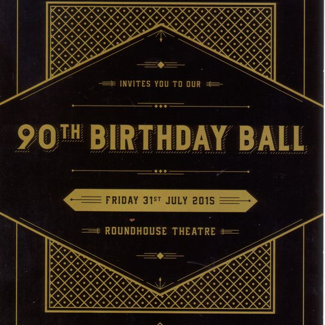 90th Birthday Ball