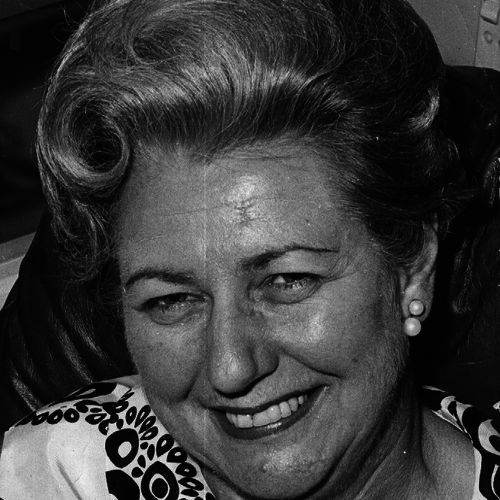 Gloria Birdwood Smith, prominent Repertory director in the 1950s and 1960s.