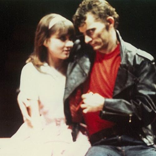 Sally Butterfield & Sean Mee as Sandy and Danny