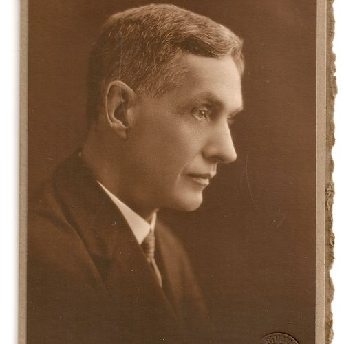 Professor J.J.Stable, Brisbane Repertory Theatre Society Co-founder and its Council President 1925-1945