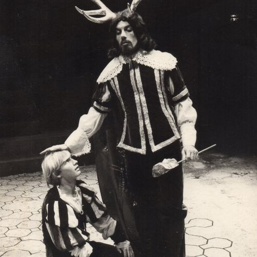 Peter Merrill as Puck & Ken Parker as Oberon
