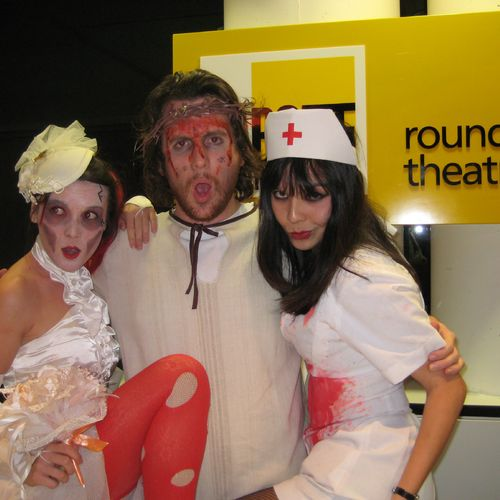 Attack of the Attacking Attacker Fundraiser event at the Roundhouse: A Bride, Jesus and a Nurse