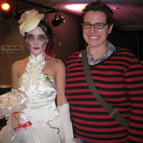 Fundraising event: Ayreen Irwin aka Corpse Bride and Anika Vile