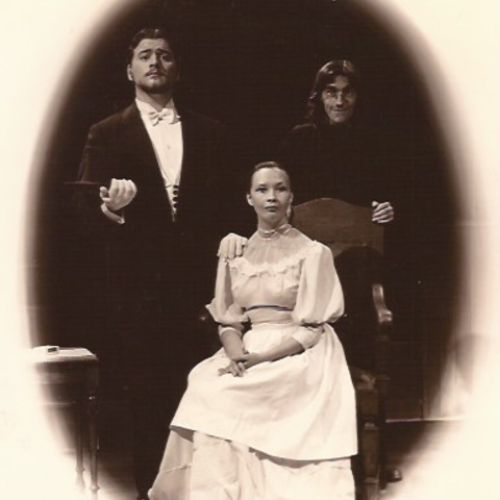 THE PROPOSAL by Anton Chekov, with Randall Berger, Pauline Walsh and unknown.